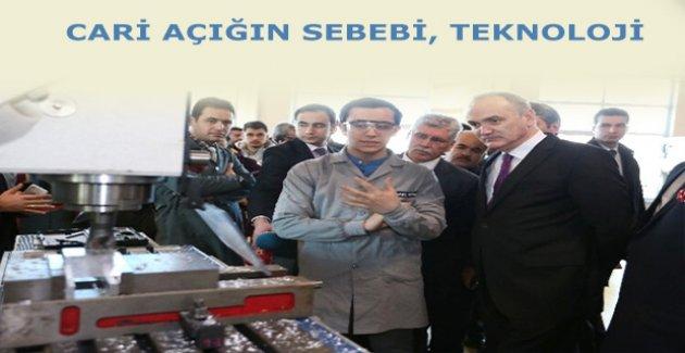 Faruk Özlü, 'Türkiye'de teknoloji açığı var'