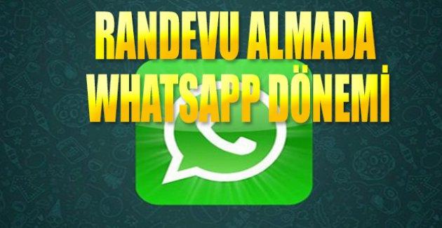 Hastalar whatsapp mesajıyla randevu alıyor