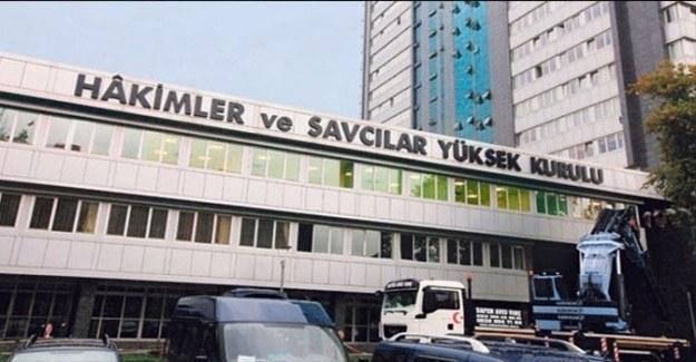 HSYK'da 7 hakim ve savcı açığa alındı
