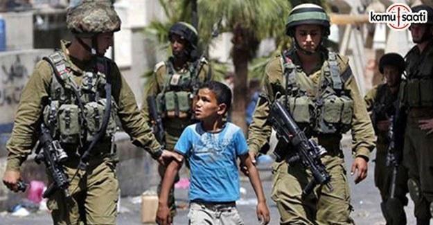 İsrail güçleri ocak ayında 590 Filistinli'yi gözaltına aldı