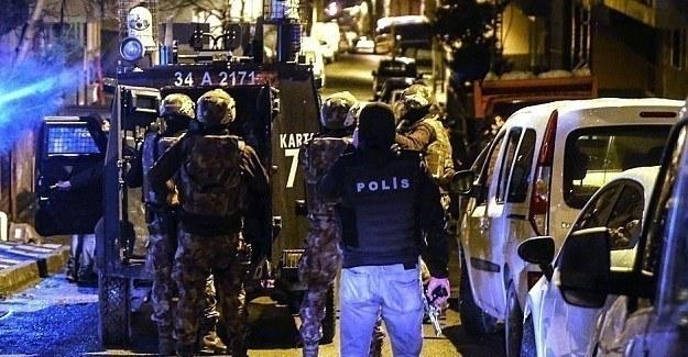 İstanbul'da terör operasyonu,  2 tutuklu