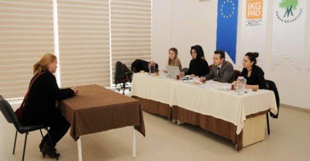Kadınların mesleki gelişimi için AB destekli proje