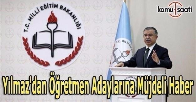 MEB Bakanı İsmet Yılmaz'dan flaş açıklama: 20 bin öğretmen alımı...