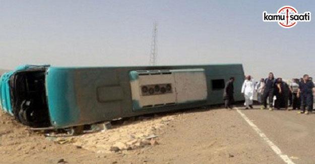 Mısır'da öğrenci otobüsü devrildi: 9 ölü, 44 yaralı