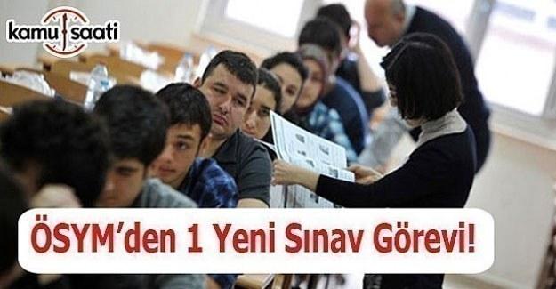 Öğretmenlere 1 yeni sınav görevi - Sınav görevi başvurusu