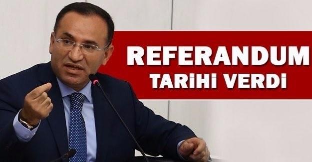 Referandum ne zaman yapılacak? Adalet Bakanı Bozdağ açıkladı