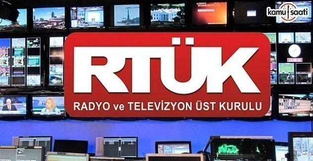 RTÜK kanallara 'argo' cezası yağdırdı