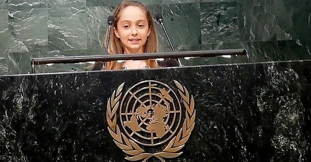 Talya Özdemir BM kürsüsünden seslendi