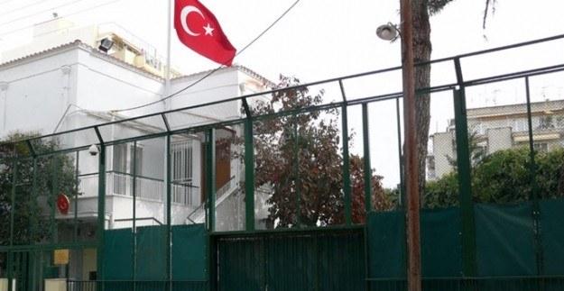 Yunanistan'daki Türk Başkonsolosluğu'na saldırı
