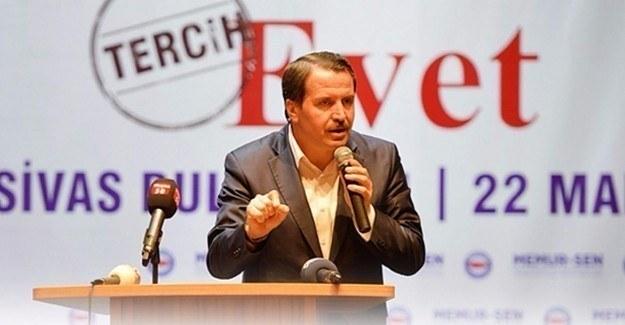 Ali Yalçın: Gezi ruhuyla 'hayır' değil, 15 Temmuz ruhuyla 'evet'