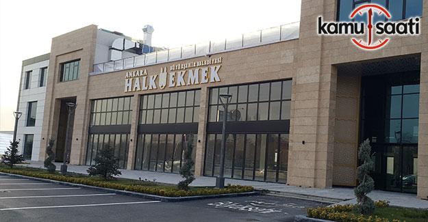 Ankara Halk Ekmek Satış mağazası hizmete açıldı