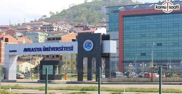 Avrasya Üniversitesi Önlisans ve Lisans Eğitim-Öğretim ve Sınav Yönetmeliğinde Değişiklik Yapıldı