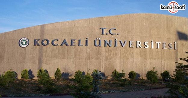 Kocaeli Üniversitesi Lisansüstü Eğitim ve Öğretim Yönetmeliğinde Değişiklik Yapıldı