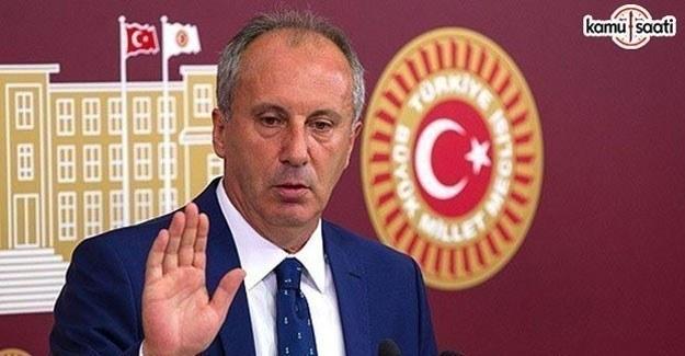 Muharrem İnce Erdoğan ile Esed'i aynı kefeye koydu