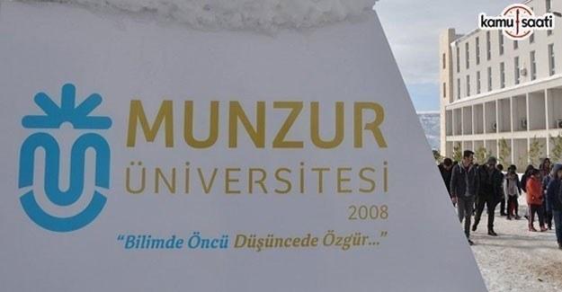 Munzur Üniversitesi Jeotermokronoloji Eğitim ve Araştırma Merkezi Yönetmeliği