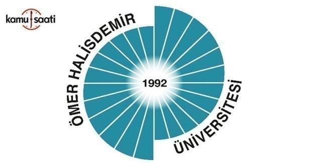 Ömer Halisdemir Üniversitesi Tıp Fakültesi Eğitim-Öğretim ve Sınav Yönetmeliği