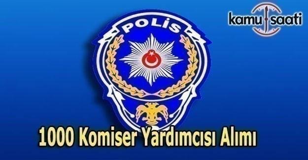 Polis Akademisi 1000 Komiser yardımcısı alımı yapacak - İşte başvuru şartları