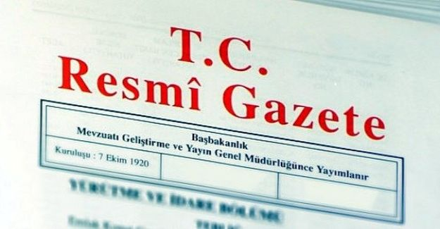 TC Resmi Gazete - 26 Mart 2017 Pazar