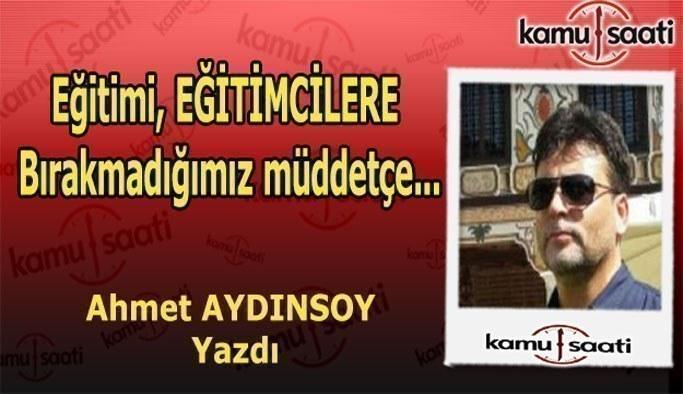 """Ahmet Aydınsoy kaleme aldı - """"Yavuz Bahadıroğlu'na.."""""""
