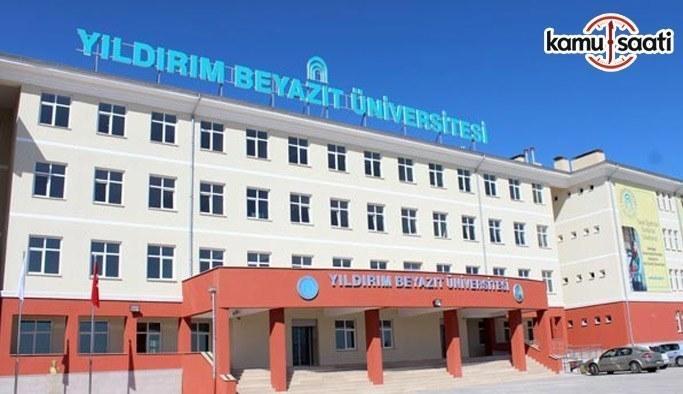 Ankara Yıldırım Beyazıt Üniversitesi Psikoloji Uygulama ve Araştırma Merkezi Yönetmeliği