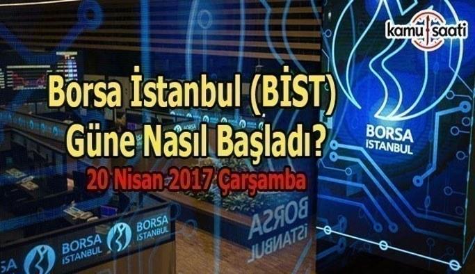 Borsa İstanbul (BİST) - 20 Nisan 2017 Perşembe