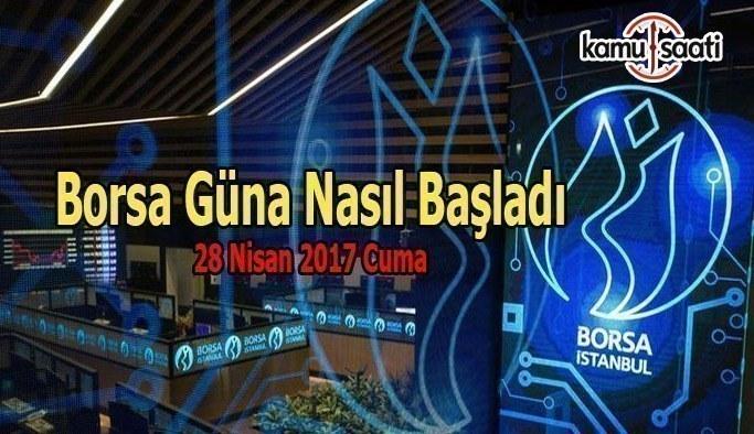 Borsa İstanbul BİST - 28 Nisan 2017 Cuma