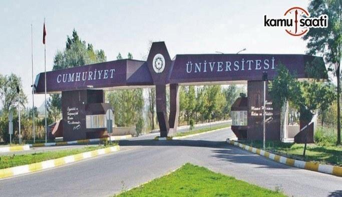 Cumhuriyet Üniversitesi Yaz Öğretimi Yönetmeliği