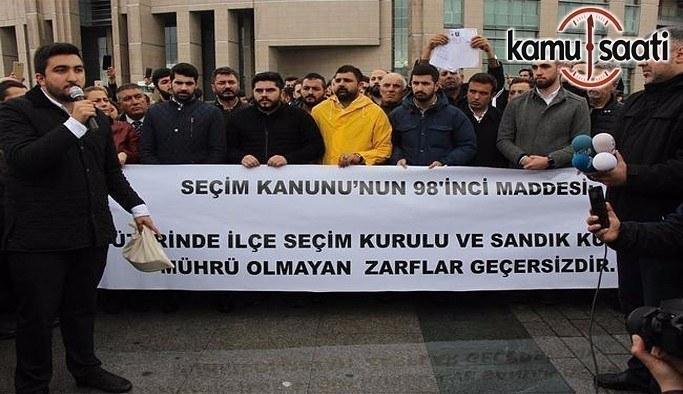 İstanbul Adliyesinde itiraz gerginliği