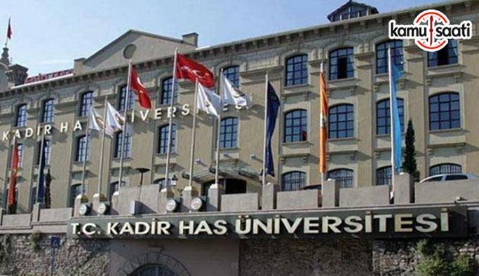 Kadir Has Üniversitesi Lisansüstü Eğitim ve Öğretim Yönetmeliğinde Değişiklik