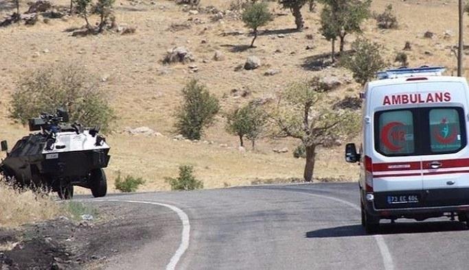 Şırnak Uludere'de PKK saldırısı: 2 şehit 2 yaralı