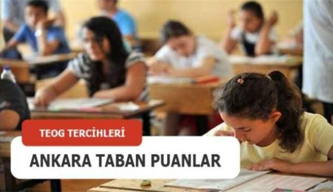 TEOG Ankara lise taban puanları 2016-2017 (Anadolu Liseleri, Fen Liseleri)