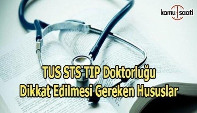 TUS ve STS TIP Doktorluğu'na girecekler dikkat! ÖSYM'den önemli uyarı