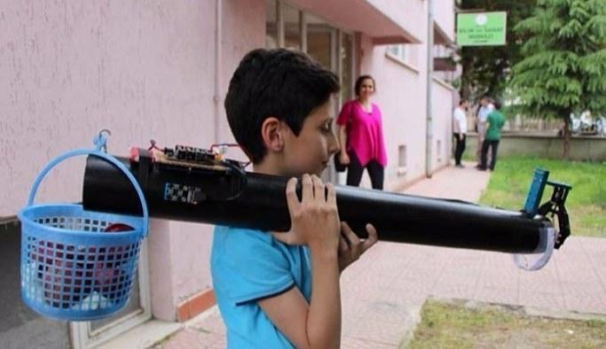 11 yaşındaki Arda'nın müthiş icadı