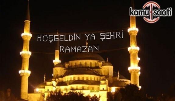 2017 Sahur, İftar ve İmsak Saatleri Ankara, İstanbul, İzmir, 81 İl Ramazan İmsakiyesi