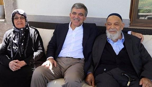 Abdullah Gül'ün acı günü! Babası hayatını kaybetti
