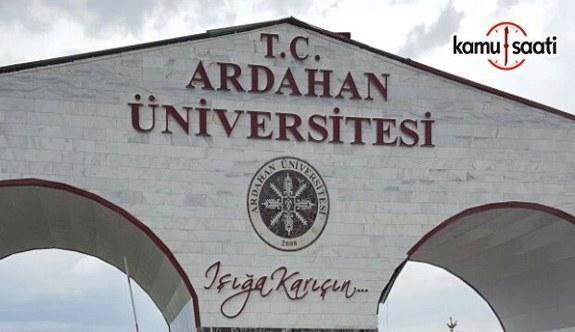 Ardahan Üniversitesi Önlisans-Lisans Eğitim-Öğretim ve Sınav Yönetmeliğinde Değişiklik