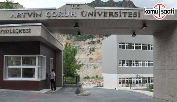 Artvin Çoruh Üniversitesi Lisansüstü Eğitim-Öğretim ve Sınav Yönetmeliği