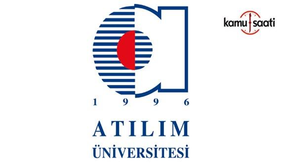 Atılım Üniversitesi Lisansüstü Eğitim-Öğretim Yönetmeliğinde Değişiklik Yapıldı