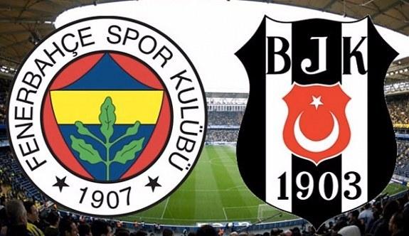 Beşiktaş-Fenerbahçe derbisinin 11'leri belli oldu