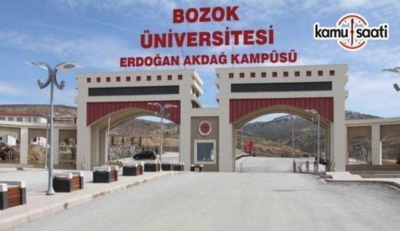 Bozok Üniversitesi Girişimcilik ve Üniversite-Sanayi İşbirliği Uygulama ve Araştırma Merkezi Yönetmeliği