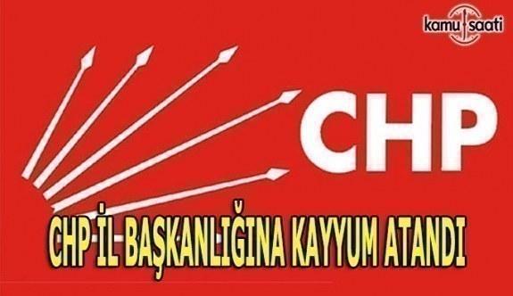 CHP Bolu İl Başkanlığına kayyum atandı