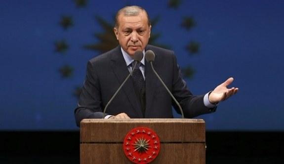 Cumhurbaşkanı Erdoğan'dan 'tabelayı sökün' tepkisi