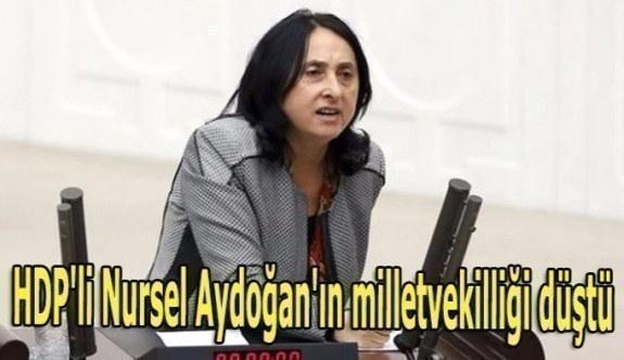 HDP'li Nursel Aydoğan'ın milletvekilliği düştü