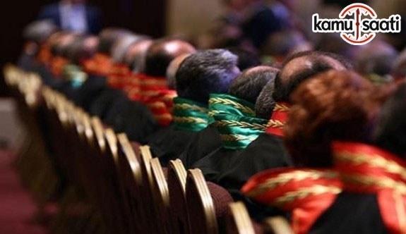 HSK Memuriyeti yükseltilemelerine karar verilen Adli, İdari Hakim, Savcı isim listesi