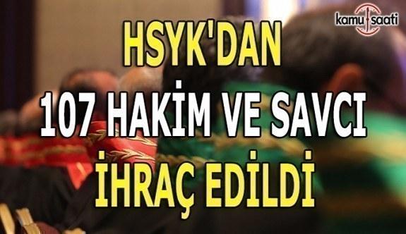 HSYK'dan ihraç edilen 107 hakim ve savcının İsim Listesi
