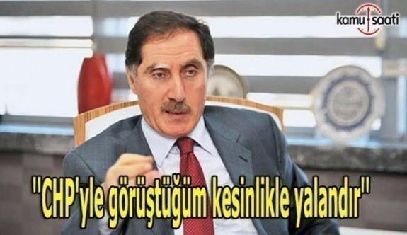 KDK Başkanı: CHP'yle görüştüğüm kesinlikle yalandır