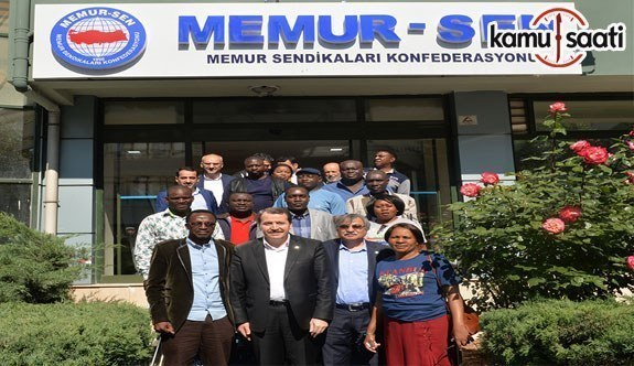 Memur-Sen ve ZCTU arasında eğitim ve ikili işbirliği anlaşması