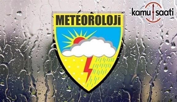 Meteorolojiden kuvvetli rüzgar ve sağanak uyarısı
