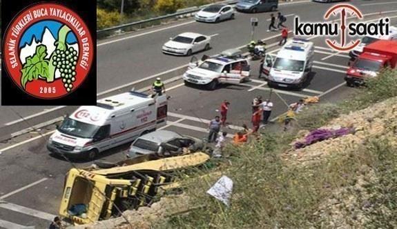 Selanik Türkleri ve Buca Yaylacıklılar Eğitim Kültür ve Dayanışma Derneği'nden kaza açıklaması