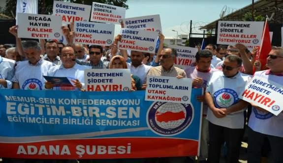 Adana'da Öğretmene Bıçaklı Saldırı - Eğitim Bir-Sen'den Kınama Açıklaması